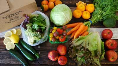 organic produce delivery